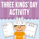 Three Kings Day Activity (Distance Learning)