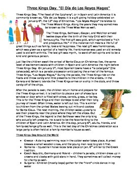 Three Kings Day Article
