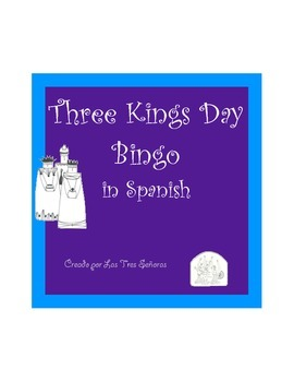 Three Kings Day Bingo/Dia de los Reyes Loteria Game