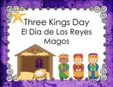 Three Kings Day (Los Reyes Magos) PowerPoint and Activities