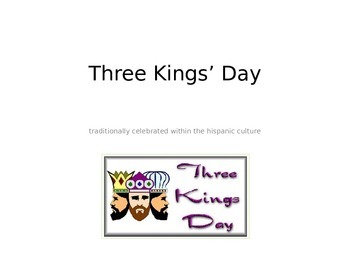 Three Kings Day Powerpoint