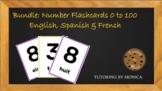 Multi Language Number Flashcard Bundle
