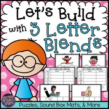 Three Letter Beginning Blends Word Work
