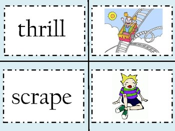 Three Letter Blends Cards
