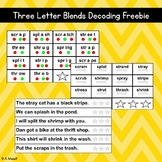 Three Letter Blends Decoding