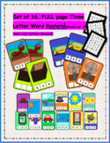 Three Letter Word Posters Activity