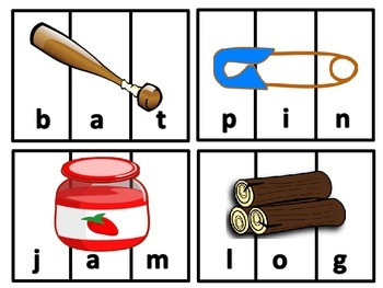 Three Letter Word Puzzles