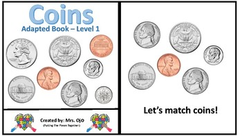 Three Leveled Coin Teaching Adaptive Books