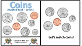 Three Leveled Coin Teaching Adaptive Books
