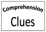 Three Levels of Comprehension Display Cards