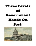 Three Levels of Government Hands-On Sort