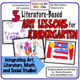 Art Lesson Bundle Kindergarten Art Literature Integrated