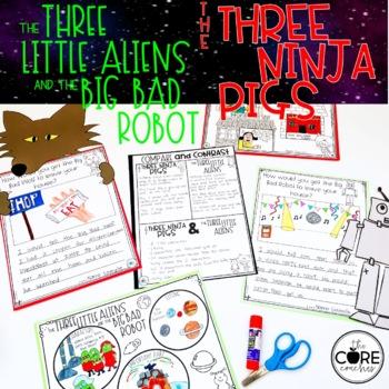 Three Little Aliens & Three Ninja Pigs: Read-Aloud Compare/Contrast Lesson Plans