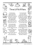 Three Little Kittens: Addition Booklet