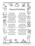 Three Little Kittens: Addition Booklet