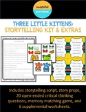 Three Little Kittens Storytelling Kit Minilesson