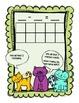 Three Little Kittens subtraction math journal - facts within 10
