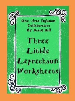 Three Little Leprechaun Worksheets