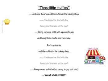 Three Little Muffins