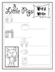 Three Little Pigs Posters (10 total) & Corresponding Writing Activity