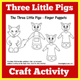 Three Little Pigs Activity | Three Little Pigs Craft | 3 Little Pigs Activity