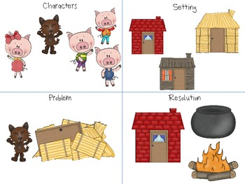 Three Little Pigs: A Storybook Companion for Speech, Language, and Literacy