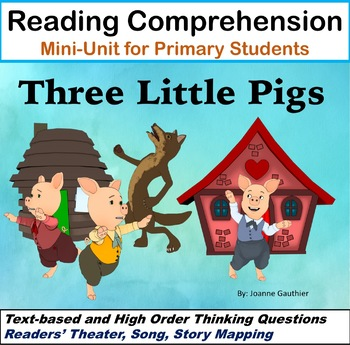 Three Little Pigs - A primary literacy unit