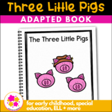 Three Little Pigs: Adapted Book for Students with Autism &