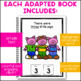 Three Little Pigs: Adapted Book for students with Autism