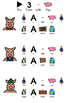Three Little Pigs Adapted printable book and homework sheets