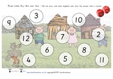Three Little Pigs Addition Roll and Cover