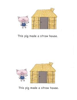 Three Little Pigs Beginning Reader
