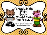 Three Little Pigs Book Companion BUNDLE with No Prep Accom