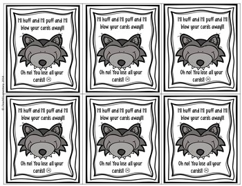 Three Little Pigs CVCe Word Game