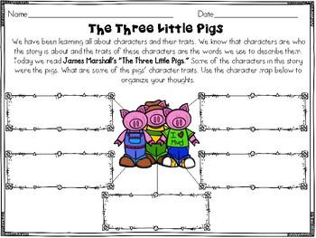 Three Little Pigs Readers Response