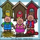 Three Little Pigs Clip Art Set - Chirp Graphics