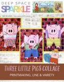 Three Little Pigs Collage Lesson Plan