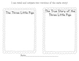Three Little Pigs Compare and Contrast