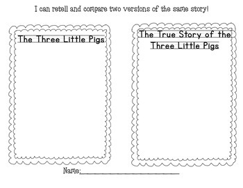 three little pigs compare and contrast by miss angotti tpt