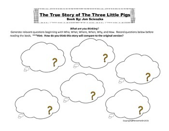 Three Little Pigs:  Comparing Versions of The Three Little Pigs