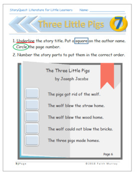 Three Little Pigs - Complete Study Guide