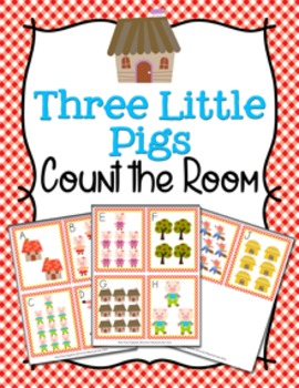 Three Little Pigs Count the Room