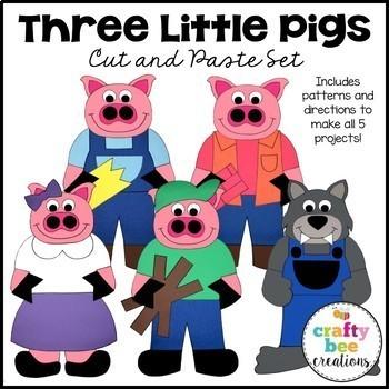Three Little Pigs Craft Bundle