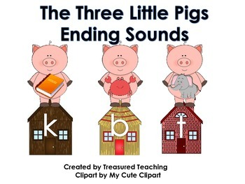 Three Little Pigs Ending Sounding  Activity