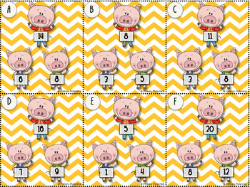 Three Little Pigs Fact Family Game