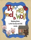 Letter Recognition Games Kindergarten Preschool & CVC Words