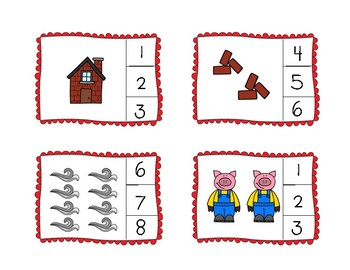 Three Little Pigs Interactive Book and Activities