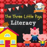 Three Little Pigs Literacy Activities for Pre-K and Kindergarten