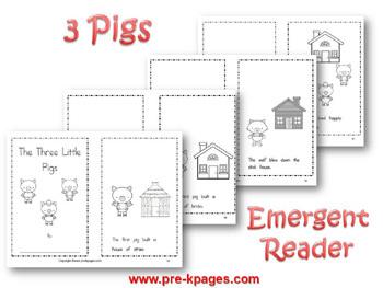 Three Little Pigs Literacy Activities For Pre K And Kindergarten 518462 on Javelina Worksheets Kindergarten