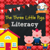Three Little Pigs Literacy Activities for Pre-K and Kindergarten
